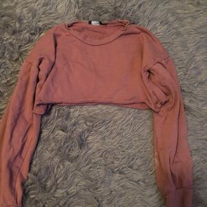 Prettylittlething cropped sweater